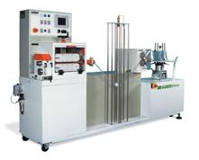 extrusion - caterpillar and servo cutting machine